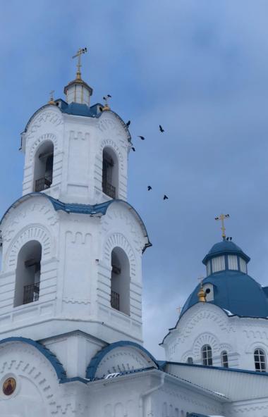 Во вторник, 15 сентября 2020, в монашеской общине села Булзи Каслинского благочиния (Челябинская