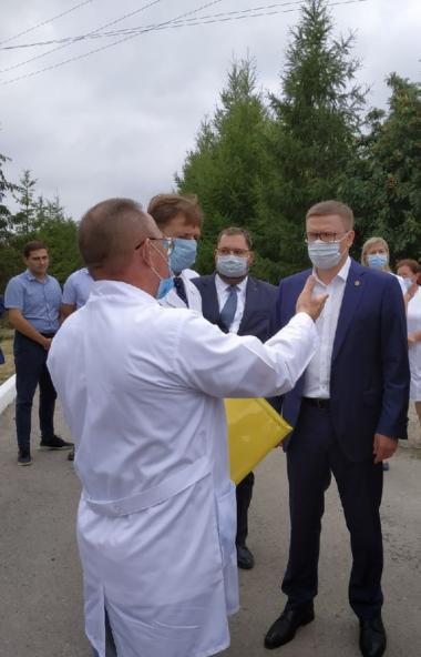 Губернатор Челябинской области Алексей Текслер в ходе состоявшегося накануне, 21 июля, рабочего в