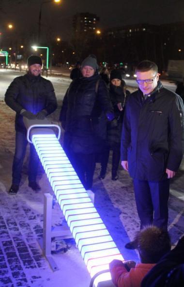 Губернатор Челябинской области Алексей Текслер, посетивший сегодня, 6 декабря, Магнитогорск прогу