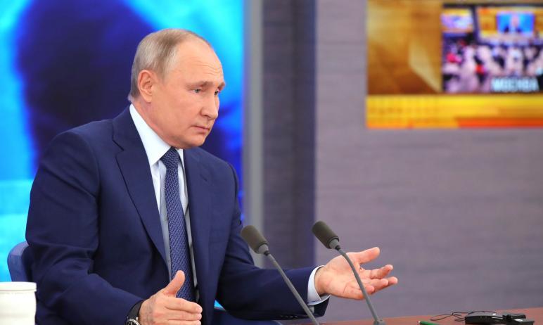 Президент России Владимир Путин пока не поставил себе прививку от коронавирусной