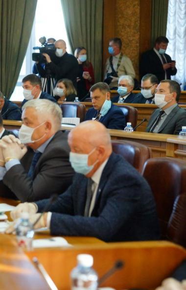 Депутаты Законодательного собрания Челябинской области седьмого созыва избрали председателей коми