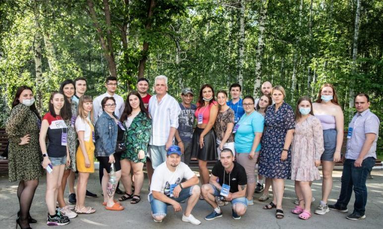 Под Магнитогорском (Челябинская область) на базе санатория «Юбилейный» состоялся ежегодный выездн