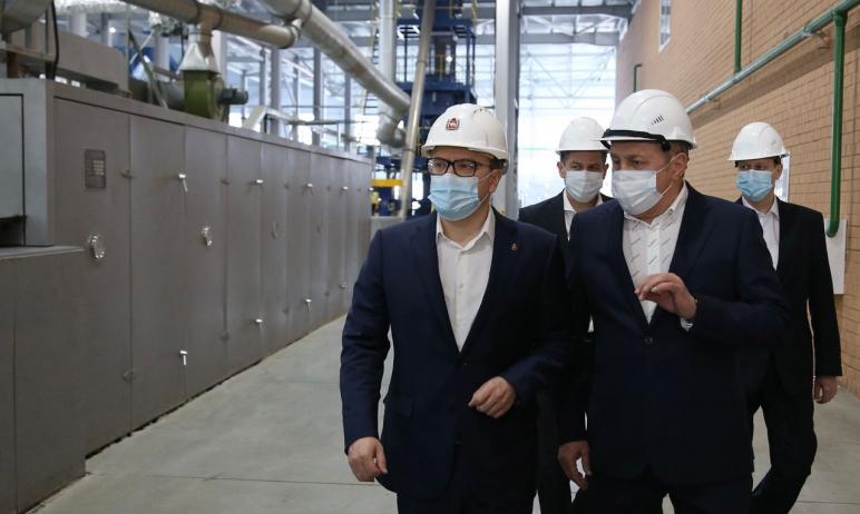 Губернатор Челябинской области Алексей Текслер ознакомился с инвестиционными проектами резидентов
