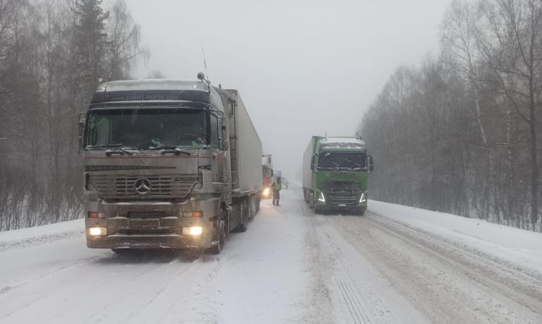 В Челябинской области продлено действие ограничения на движение большегрузного автомобильного тра