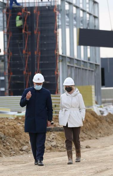 В ноябре 2020 года на выезде из Челябинска в поселке Малая Сосновка будет введена в эксплуатацию