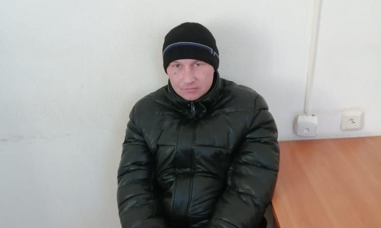В Троицком районе сотрудниками пограничного управления ФСБ по Челябинской области рядом с государ