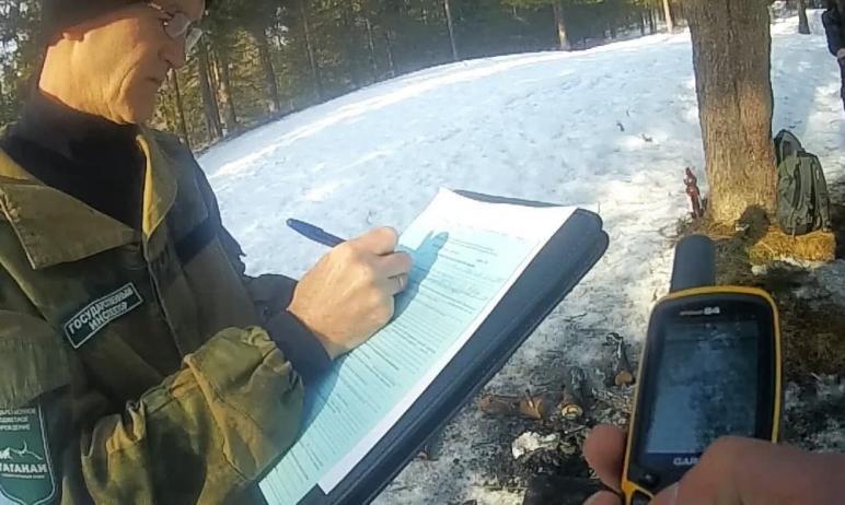 В Челябинской области в нацпарке Таганай группа туристов из Москвы нарубила дров и разожгла косте