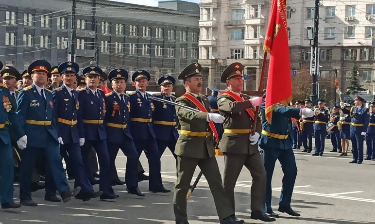 В четверг, шестого мая, в Челябинске состоялась генеральная репетиция торжественного построения Ч