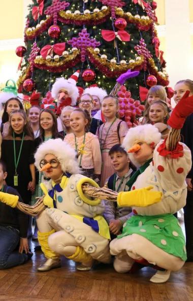 В праздник Рождества Христова, 7 января, в Челябинской области стартовали рождественские елки губ
