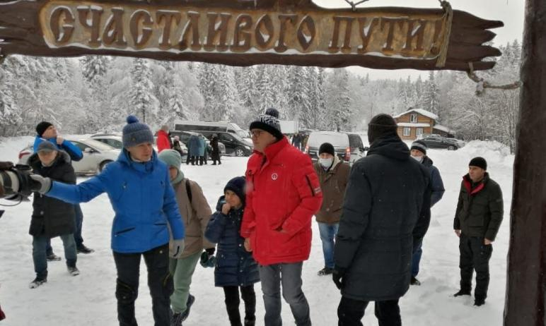 В воскресенье, 24 января, губернатор Челябинской области Алексей Текслер посетил Златоустовский г