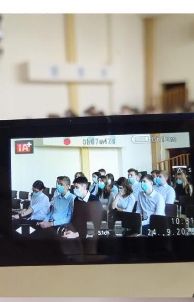 Сбербанк в Челябинске провел «Урок цифры» для учащихся 11-го класса средней образовательной школы