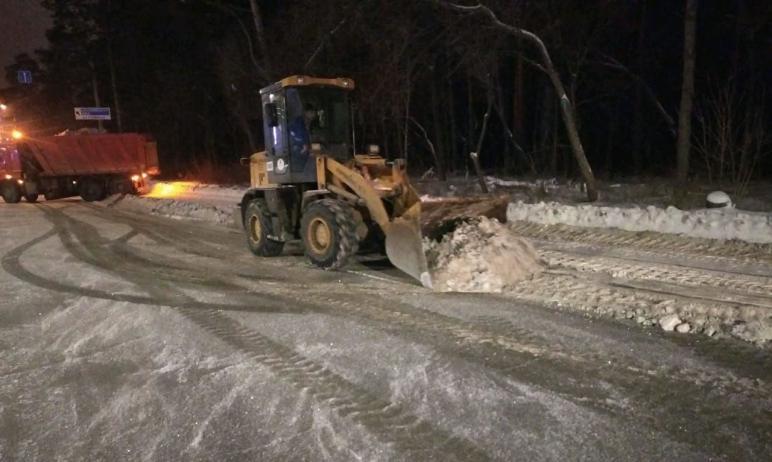 В ночь со второго по третье января дорожные рабочие вывезли из Челябинска 951,5 тысячи тонн снега