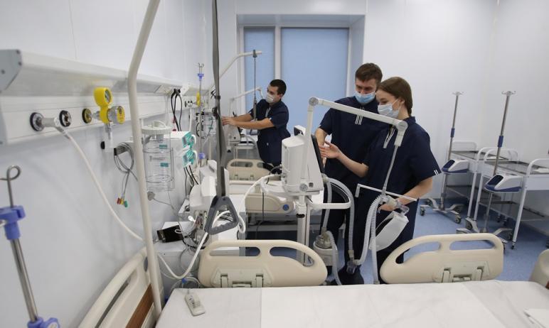 В Челябинской области в настоящее время для больных коронавирусом пациентов развернуто пять тысяч