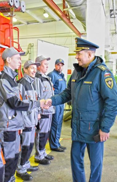 В Челябинской области планируют создать современный учебно-тренировочный центр МЧС на базе вновь