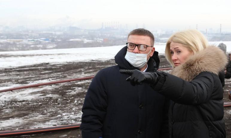 Вице-премьер РФ Виктория Абрамченко, курирующая экологию, сегодня, 28 января, работает в Челябинс