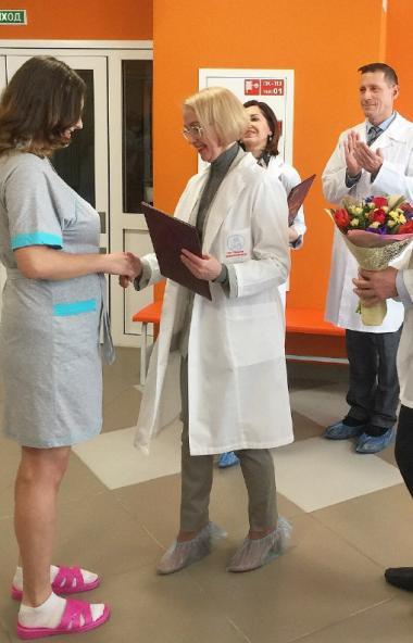 Впервые в Челябинской области в областном перинатальном центре открылся рабочий кабинет ЗАГСа. Те