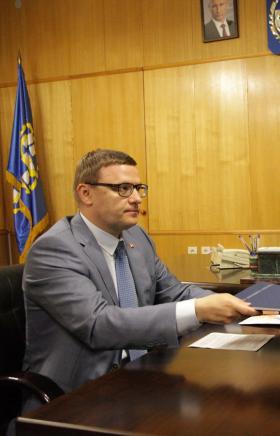 Руководитель Челябинской области Алексей Текслер провел рабочую встречу с главой