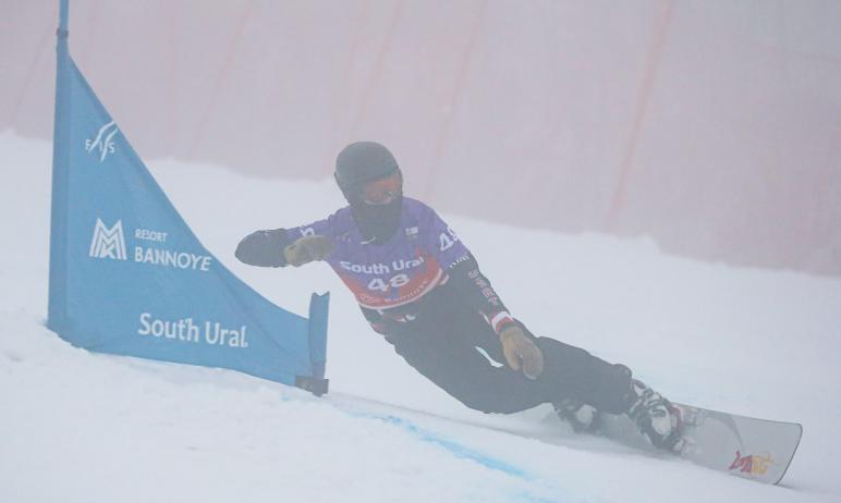 В Челябинской области на горнолыжном курорте «Банное» стартовал в этап Кубка мира FIS по сноуборд