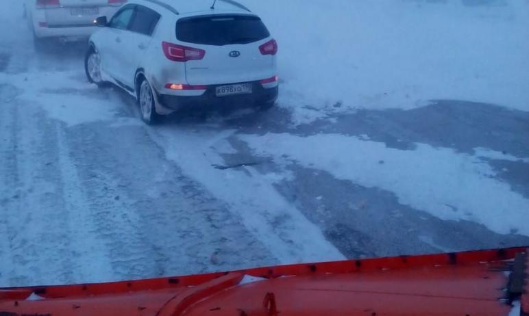 Во вторник, девятого марта, продолжается снегопад в четырех муниципальных образованиях Челябинско