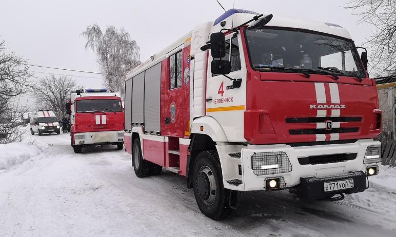 Два человека погибли и один пострадал в результате пожара в частном жилом доме на улице Ставропол