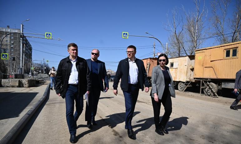 Губернатор Челябинской области Алексей Текслер выполнил свое обещание и проинспектировал объекты