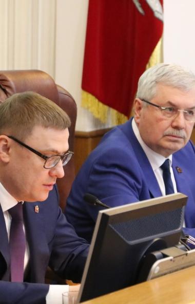 Губернатор Челябинской области Алексей Текслер 30 декабря встретился с депутатами Законодательног