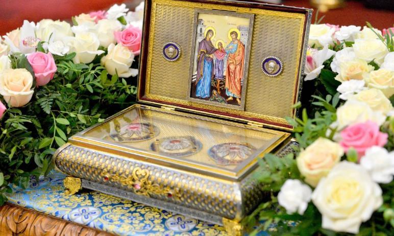 В понедельник, 10 мая, в Челябинск доставят ковчег с частью Пояса Пресвятой Богородицы из Казанск