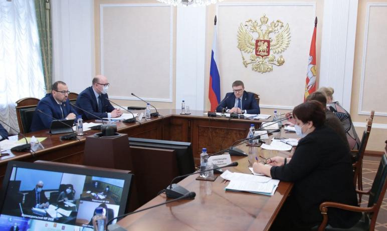 Губернатор Челябинской области Алексей Текслер провел личный прием граждан по ви
