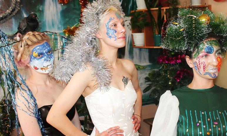 В исправительной колонии №5 Челябинска состоялся конкурсу по боди-арту и визажу «Зимушка-зима». О