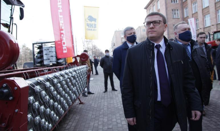 Губернатор Челябинской области Алексей Текслер перед началом полевого сезона обозначил основные п