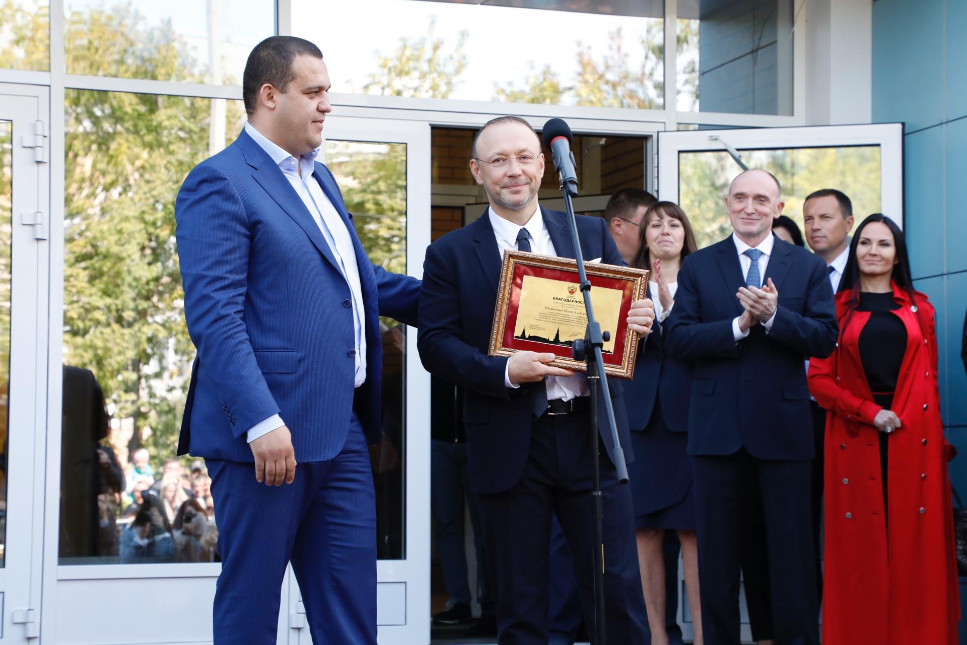 Председатель Совета директоров РМК Игорь Алтушкин награжден Благодарностью Федерации бокса России