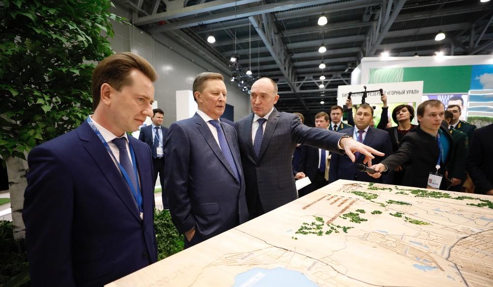 Губернатор Челябинской области Борис Дубровский познакомил с проектом специального представителя