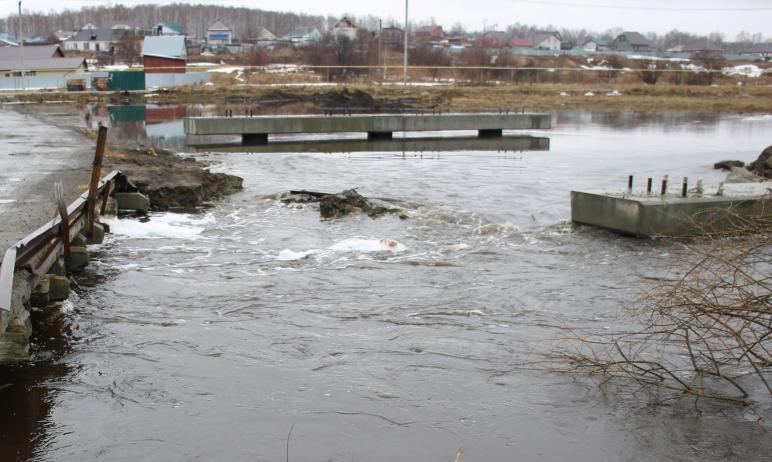 После обращения местных жителей села Заворухино (Челябинская область) о регулярном затоплении под