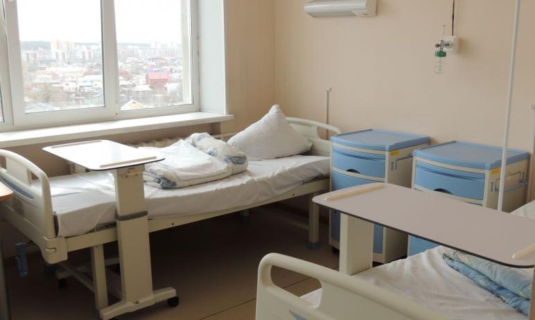 В Челябинской области за неполный месяц практически в два раза увеличили число коек для лечения п