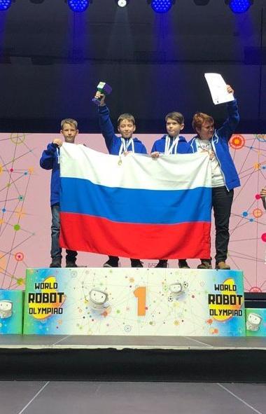 Команда робототехников из Миасса (Челябинская область) завоевала первое место в основной младшей