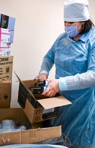 В Челябинской области уровень заболеваемости острыми респираторными вирусными инфекциями (ОРВИ) п