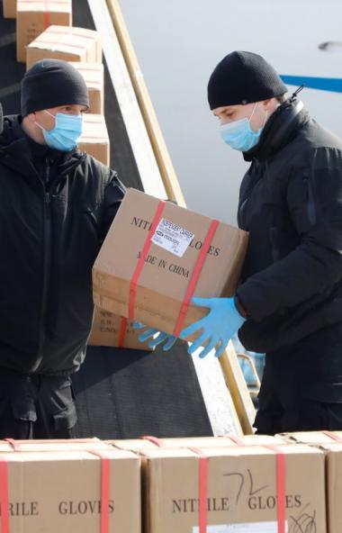 До конца недели в Екатеринбург прибудет очередная партия гуманитарного груза, приобретенного пред