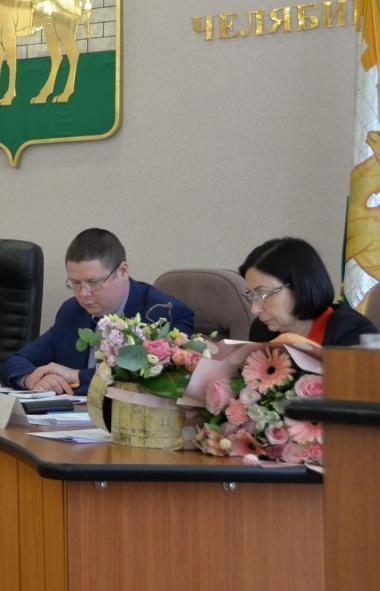 Глава Челябинского городского округаНаталья Котова, сегодня, 19-го ноября, одержавшая побед