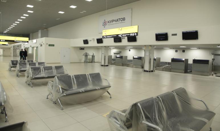 Челябинский аэропорт имени Курчатова (Баландино) готов возобновить международное авиационное сооб
