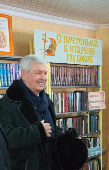 Председатель Законодательного Собрания Челябинской области Владимир Мякуш после визита в село Мор