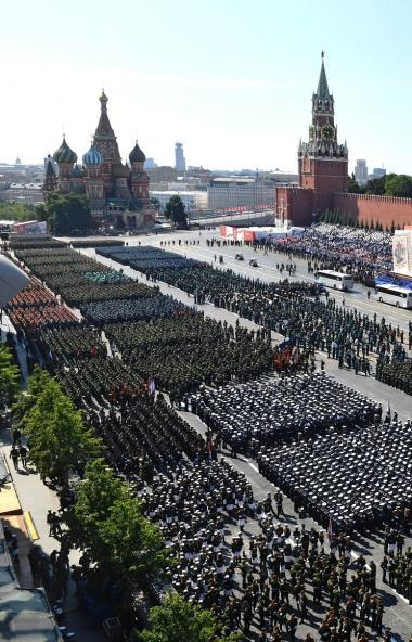 Сегодня, 24 июня, в Москве состоялся самый главный парад, посвященный 75-летию Победы советского