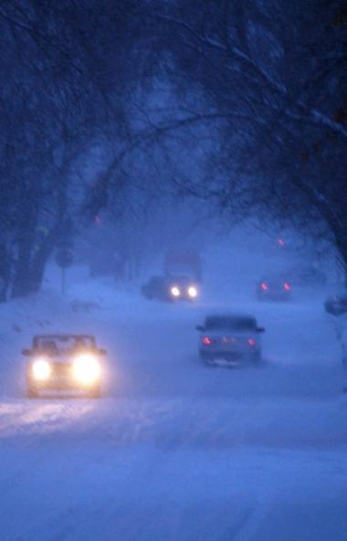 Предстоящей ночью и днем в четверг, 23 января, в отдельных районах Челябинской области продолжатс