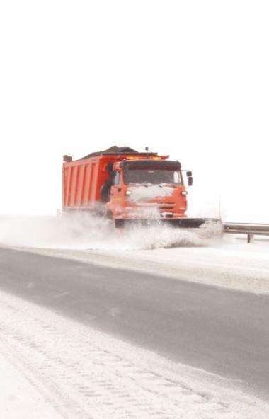В связи с непогодой на автодорогах регионального значения в Челябинской области введен запрет для