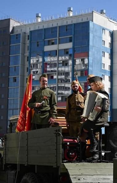 Челябинская область, как и вся Россия, девятого мая отметила 75-летие Победы в Великой Отечествен
