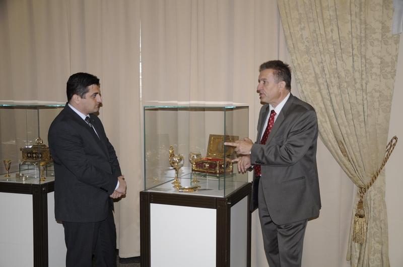 Творческая командировка организована при поддержке управления культуры и туризма города Баку. В с