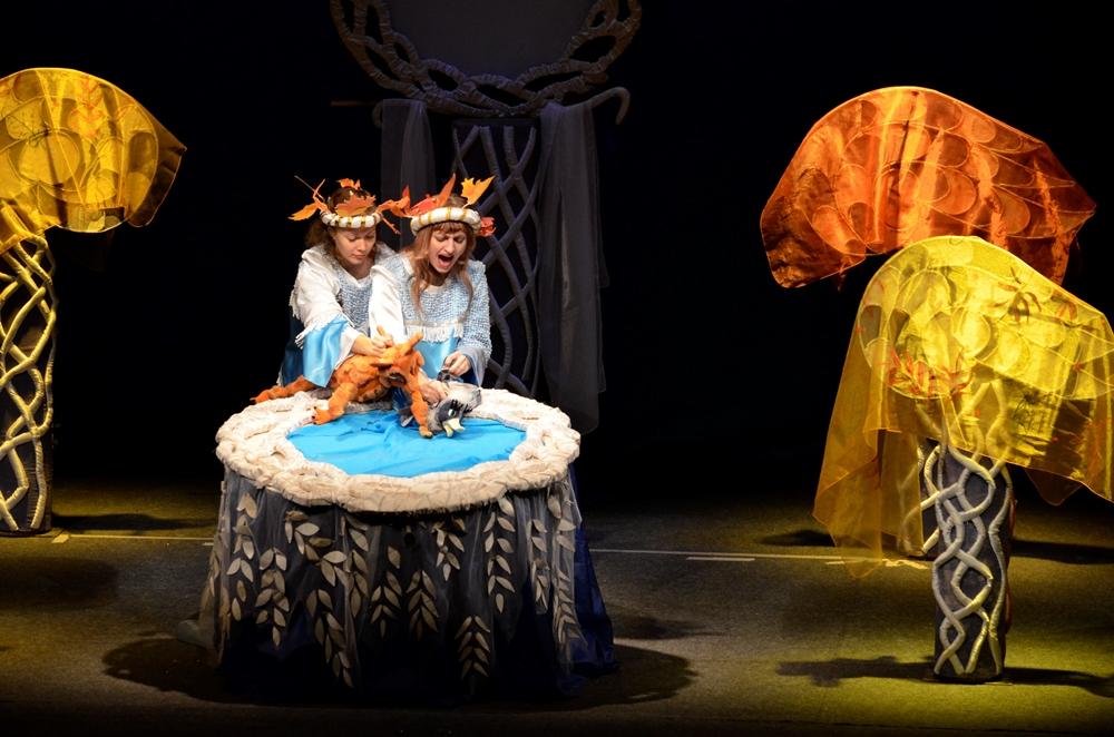 Это торжество завершало юбилейную Театральную неделю этого талантливого творческого коллектива, х