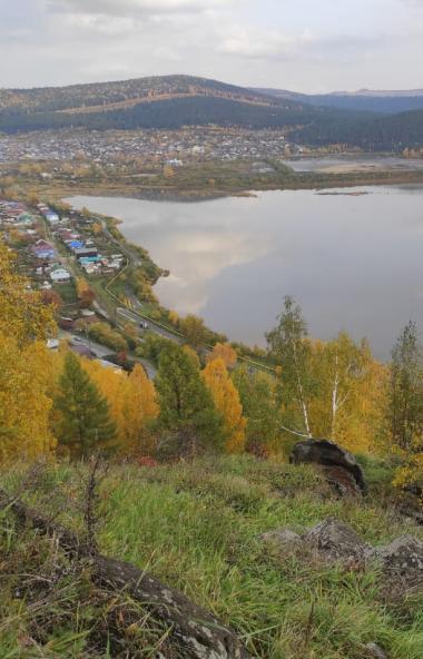 На горе Косотур города Златоуста (Челябинская область) обустроят экологическую тропу и смотровые