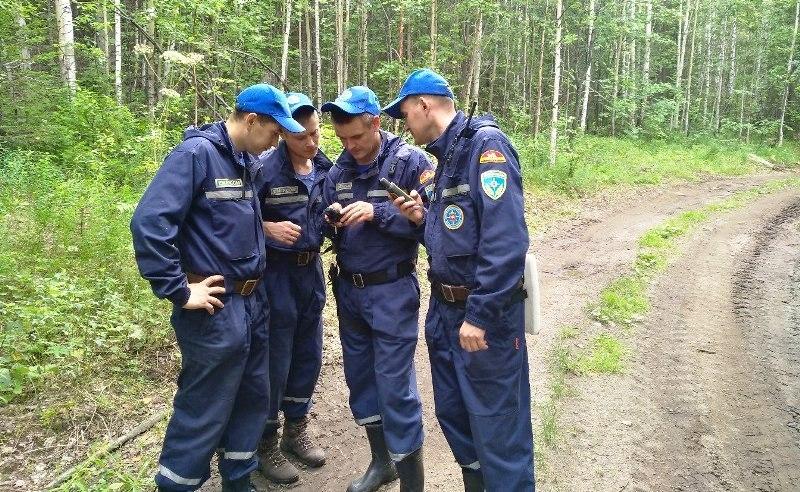 Миасский спасотряд областной службы выезжал в лесной массив на поиски потерявшихся людей 5 август