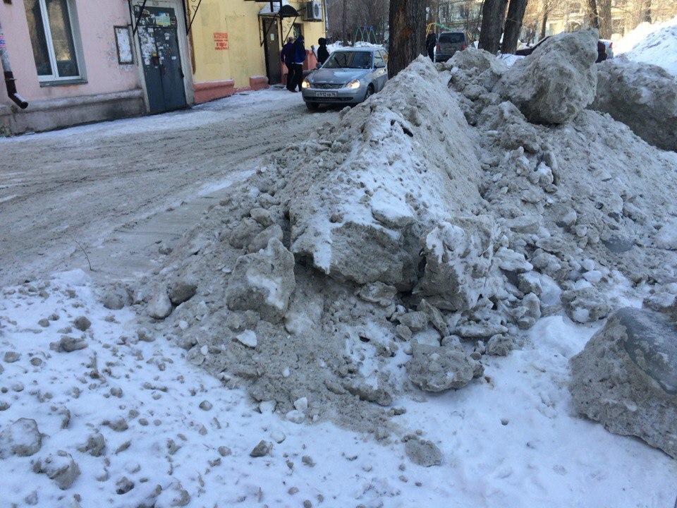 Теперь каждый житель Челябинска сможет оставить замечание, касающееся некачественной уборки снега