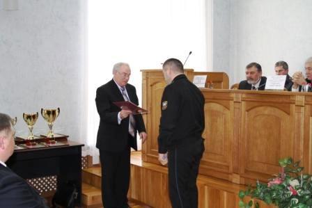 На расширенной коллегии управления ФССП России по Челябинской области по итогам 2010-го года двум